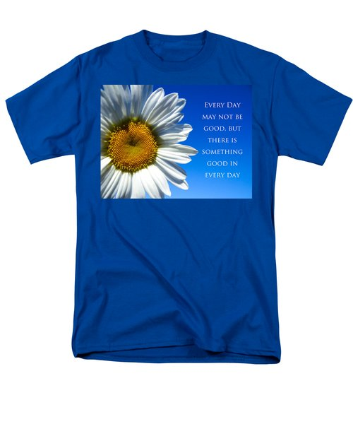 Something Good Men's T-Shirt  (Regular Fit) by Julia Wilcox