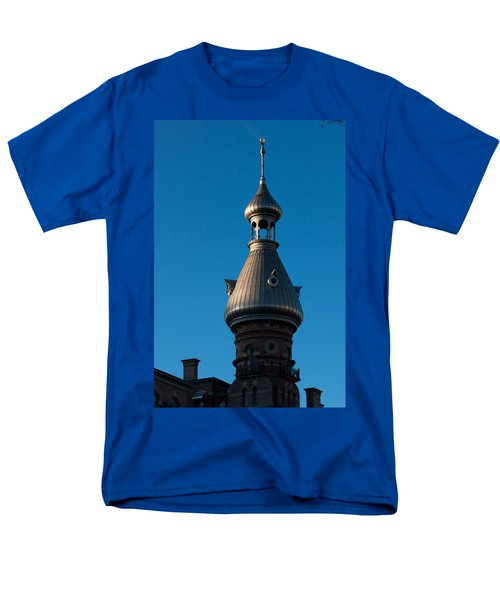 Men's T-Shirt  (Regular Fit) featuring the photograph Tampa Bay Hotel Minaret by Ed Gleichman