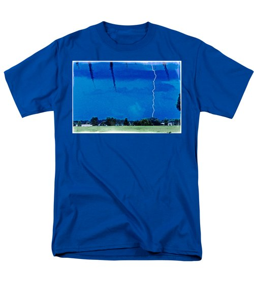 Men's T-Shirt  (Regular Fit) featuring the photograph Underneath- My Fears by Janie Johnson