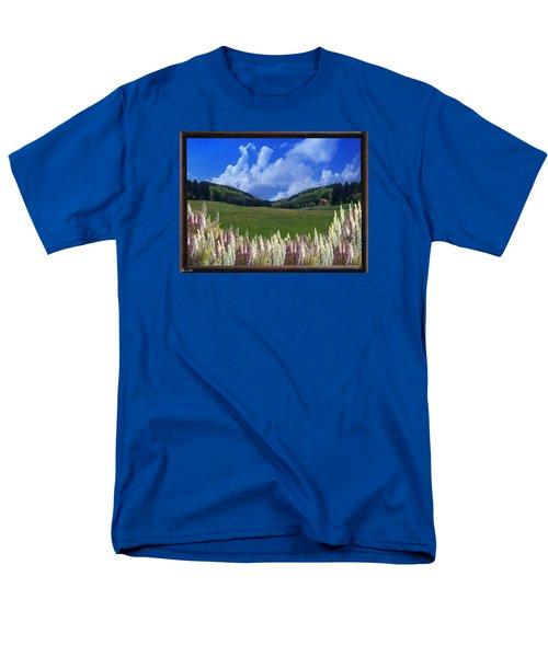 Men's T-Shirt  (Regular Fit) featuring the photograph  A Beautiful View by Bernd Hau