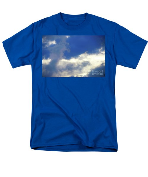 Blue Men's T-Shirt  (Regular Fit) by Jesse Ciazza
