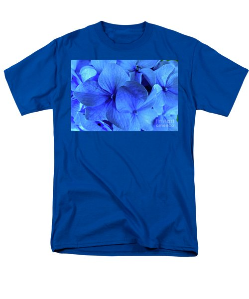 Men's T-Shirt  (Regular Fit) featuring the photograph Blue by Nancy Patterson