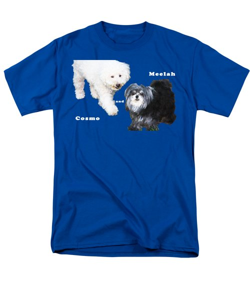 Cosmo And Meelah 1 Men's T-Shirt  (Regular Fit)