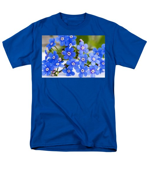 Forget-me-not Men's T-Shirt  (Regular Fit) by Chevy Fleet