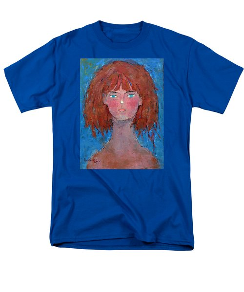 Men's T-Shirt  (Regular Fit) featuring the painting Freedom by Becky Kim