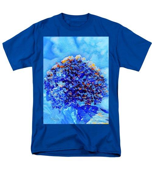 Got The Blues Men's T-Shirt  (Regular Fit) by MaryLee Parker