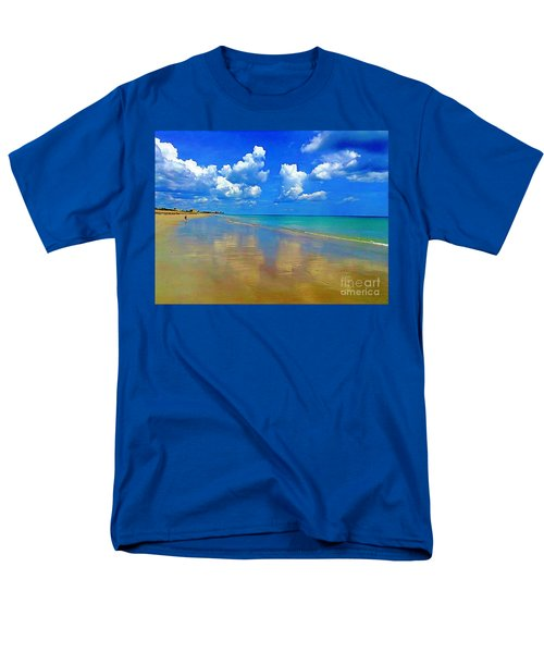 Jensen Beach  Men's T-Shirt  (Regular Fit) by Patrice Torrillo