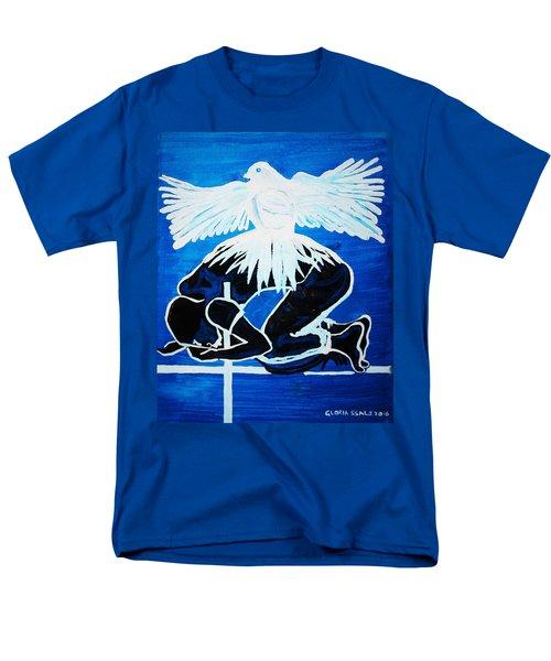 Slain In The Holy Spirit Men's T-Shirt  (Regular Fit) by Gloria Ssali