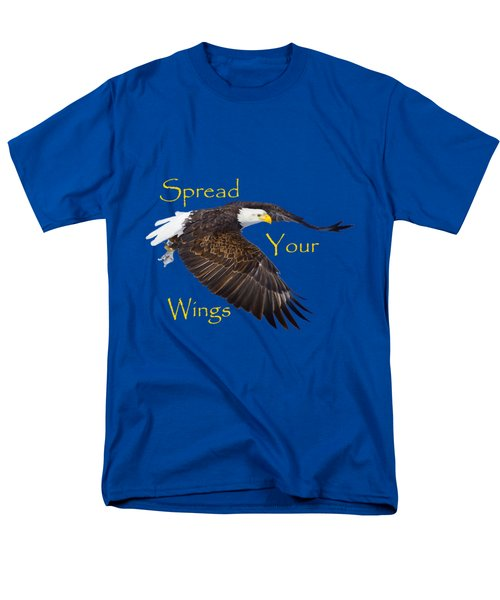 Men's T-Shirt  (Regular Fit) featuring the photograph Spread Your Wings by Greg Norrell