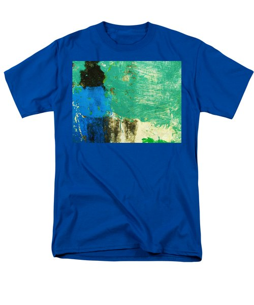 Wall Abstract 70 Men's T-Shirt  (Regular Fit) by Maria Huntley