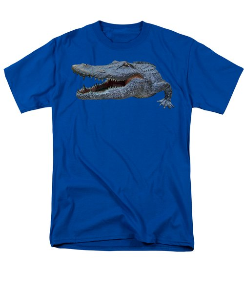 1998 Bull Gator Up Close Transparent For Customization Men's T-Shirt  (Regular Fit)