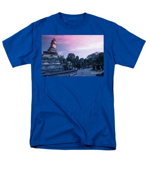 Artistic Of Chedi Men's T-Shirt  (Regular Fit) by Atiketta Sangasaeng