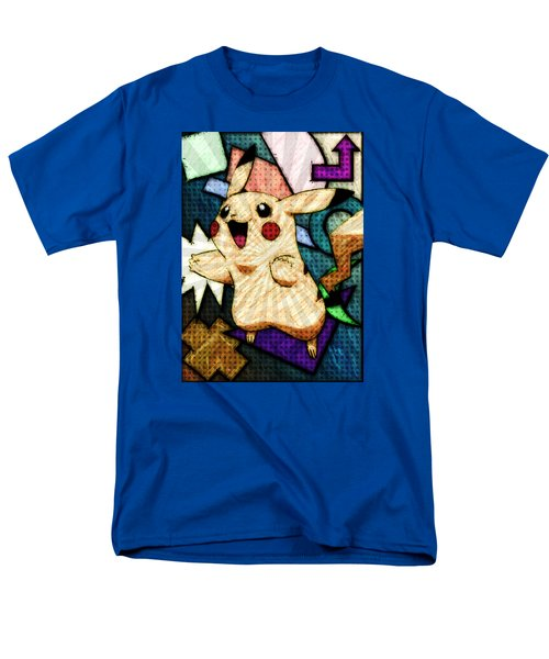 Pokemon - Pikachu Men's T-Shirt  (Regular Fit) by Kyle West