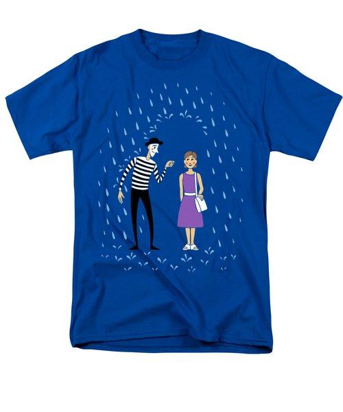 Men's T-Shirt  (Regular Fit) featuring the digital art A Helping Hand by Ben Hartnett