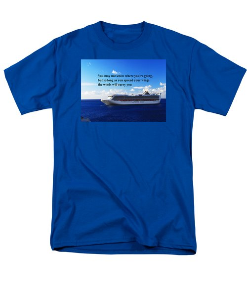 Men's T-Shirt  (Regular Fit) featuring the photograph A Life Journey by Gary Wonning