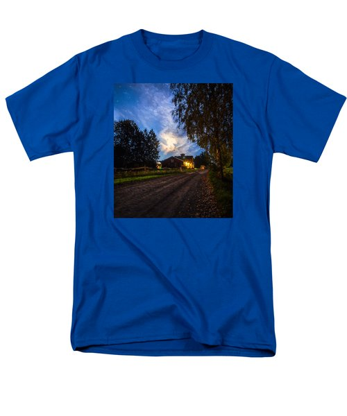 A Peaceful Evening Men's T-Shirt  (Regular Fit) by Rose-Maries Pictures