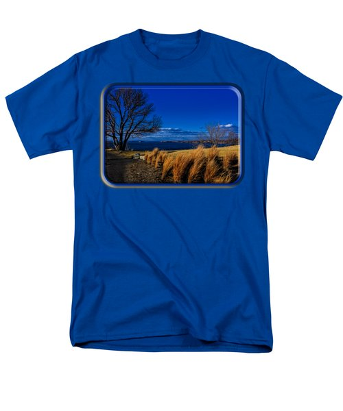 A Side Path Men's T-Shirt  (Regular Fit) by Mark Myhaver
