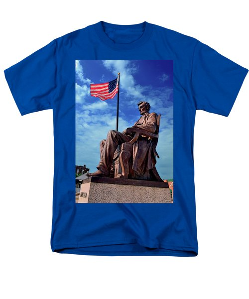 Abraham Lincoln Birthplace 002 Men's T-Shirt  (Regular Fit) by George Bostian