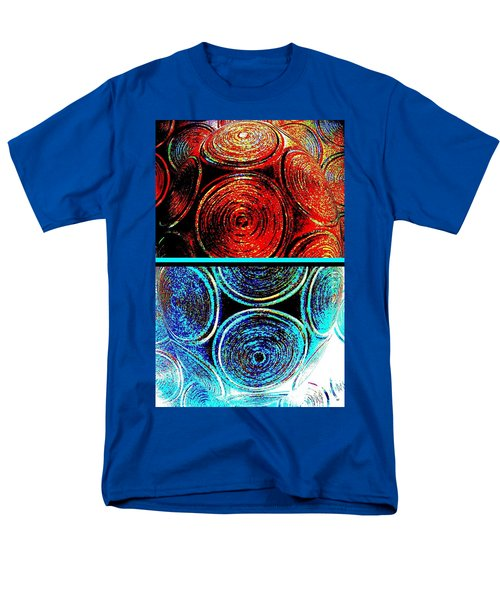 Men's T-Shirt  (Regular Fit) featuring the digital art Abstract Fusion 275 by Will Borden