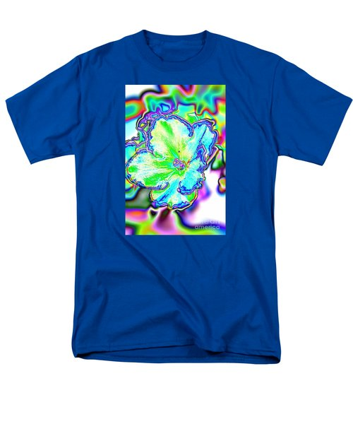 Abstract Of Violet Men's T-Shirt  (Regular Fit) by Marilyn Carlyle Greiner