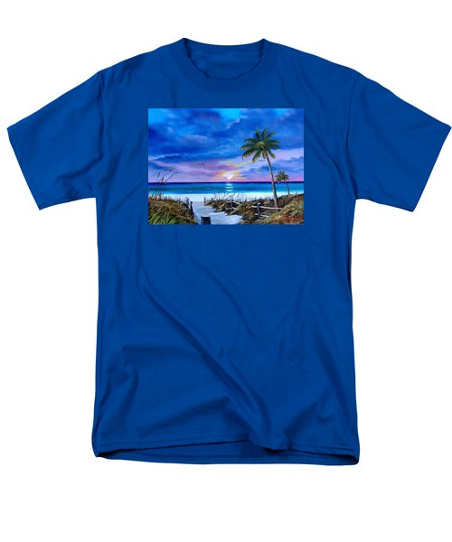 Access To The Beach Men's T-Shirt  (Regular Fit) by Lloyd Dobson