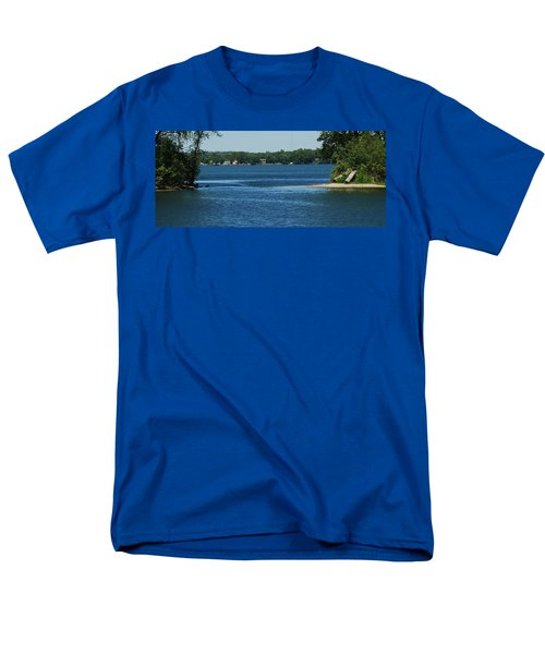 Men's T-Shirt  (Regular Fit) featuring the photograph Across The Bay by Ramona Whiteaker