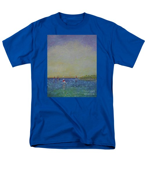 Afternoon Sailing Men's T-Shirt  (Regular Fit) by Gail Kent