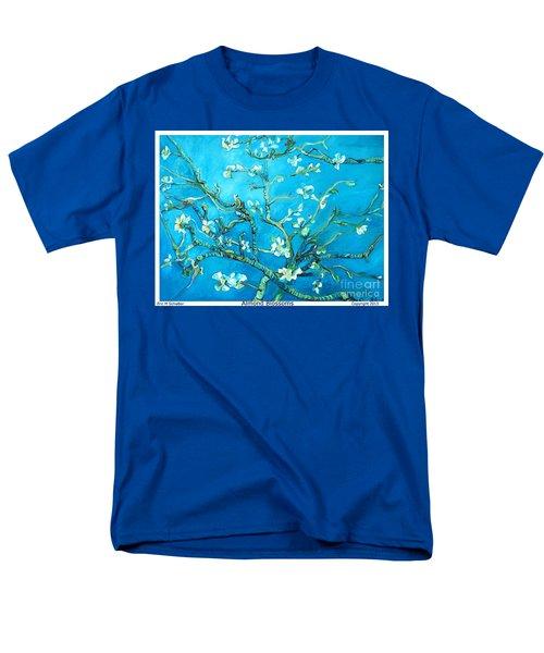 Almond Blossom Men's T-Shirt  (Regular Fit) by Eric  Schiabor