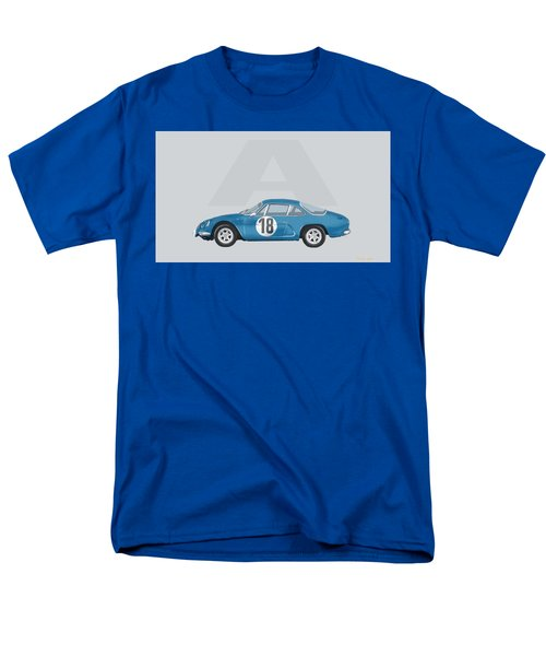 Men's T-Shirt  (Regular Fit) featuring the mixed media Alpine A110 by TortureLord Art