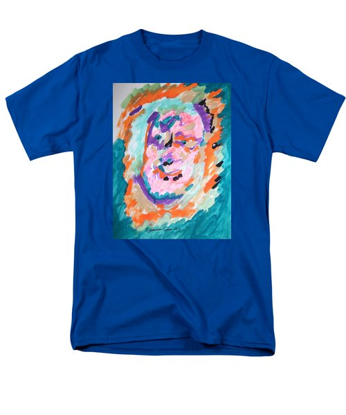 Men's T-Shirt  (Regular Fit) featuring the painting Alter Ego by Esther Newman-Cohen