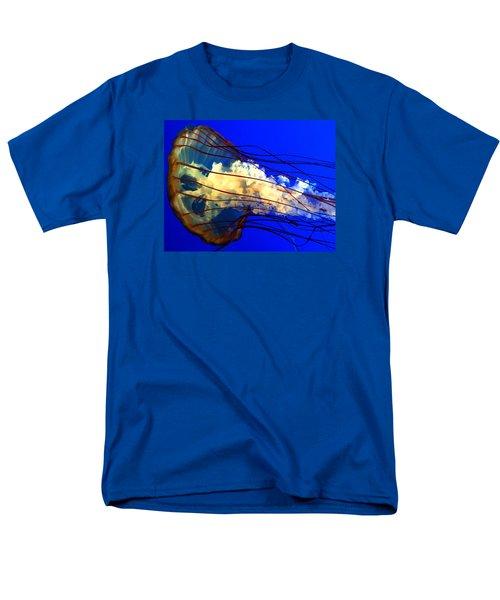 Anatomy Of Sea Nettle Men's T-Shirt  (Regular Fit) by Kruti Shah