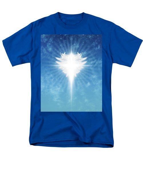 Angel In The Sky Men's T-Shirt  (Regular Fit) by James Larkin