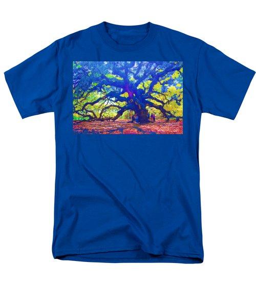 Men's T-Shirt  (Regular Fit) featuring the photograph Angel Oak Tree by Donna Bentley