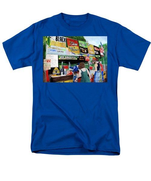 Appalachian Picnic Men's T-Shirt  (Regular Fit) by Sandy McIntire