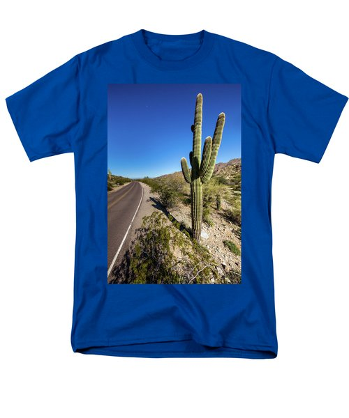 Arizona Highway Men's T-Shirt  (Regular Fit) by Ed Cilley