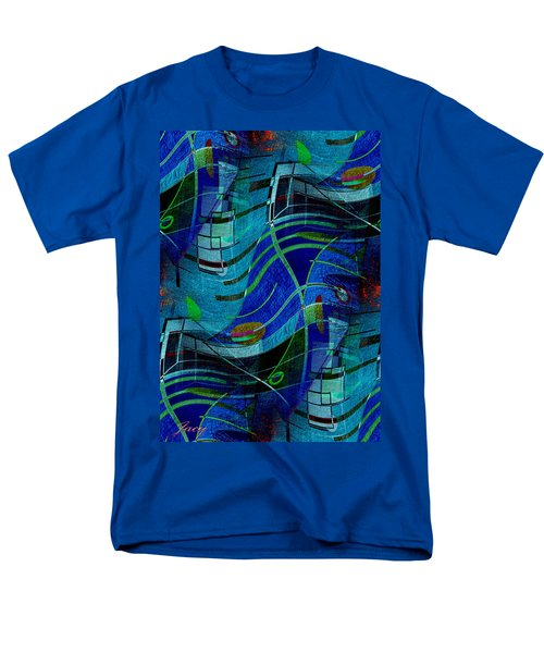 Art Abstract With Culture Men's T-Shirt  (Regular Fit) by Sheila Mcdonald