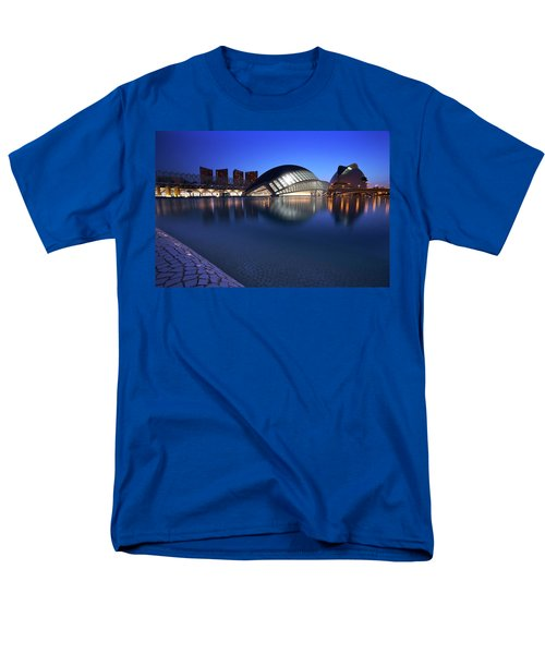 Arts And Science Museum Valencia Men's T-Shirt  (Regular Fit) by Graham Hawcroft pixsellpix