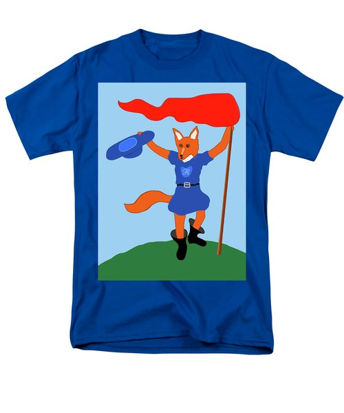 Reynard The Fairy Tale Fox Men's T-Shirt  (Regular Fit) by Marian Cates