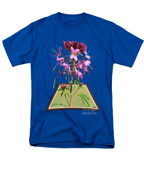 Rocky Mountain Bee Plant Men's T-Shirt  (Regular Fit)