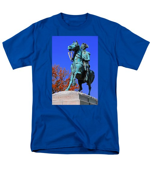 At The Battle Of Princeton Men's T-Shirt  (Regular Fit) by Iryna Goodall