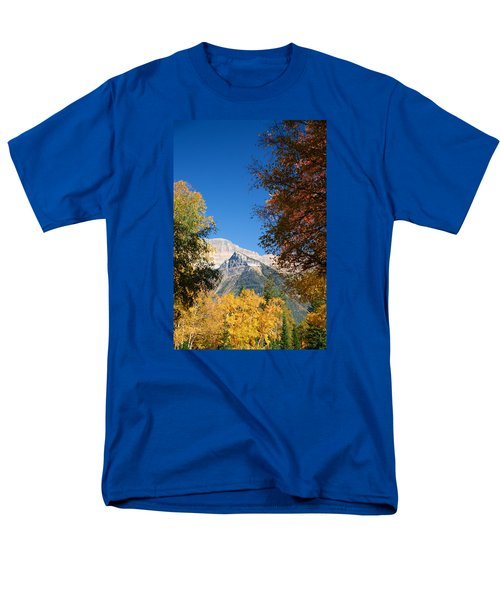 Autumn Peaks Men's T-Shirt  (Regular Fit) by Lawrence Boothby
