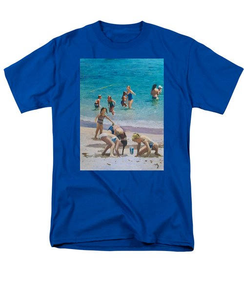 Beach Time Men's T-Shirt  (Regular Fit)