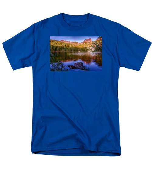 Bear Lake 1 Men's T-Shirt  (Regular Fit) by Mary Angelini