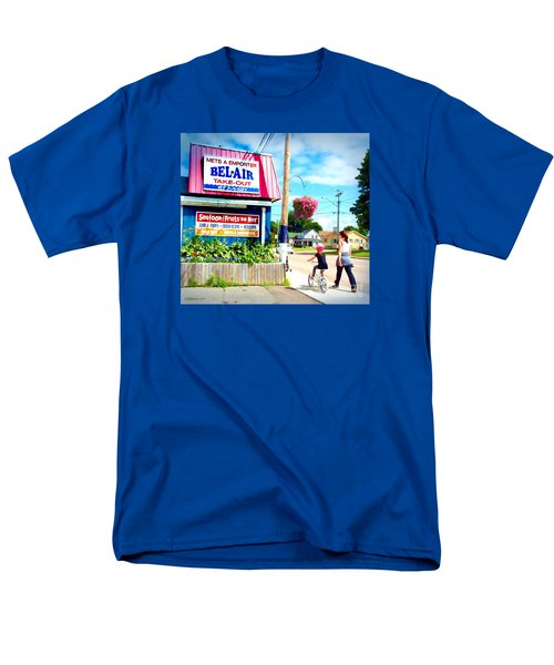 Men's T-Shirt  (Regular Fit) featuring the photograph Bel Air  by Patricia L Davidson