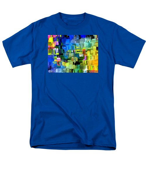 Men's T-Shirt  (Regular Fit) featuring the painting Believe What You Say by Holley Jacobs