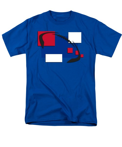 Bills Abstract Shirt Men's T-Shirt  (Regular Fit) by Joe Hamilton