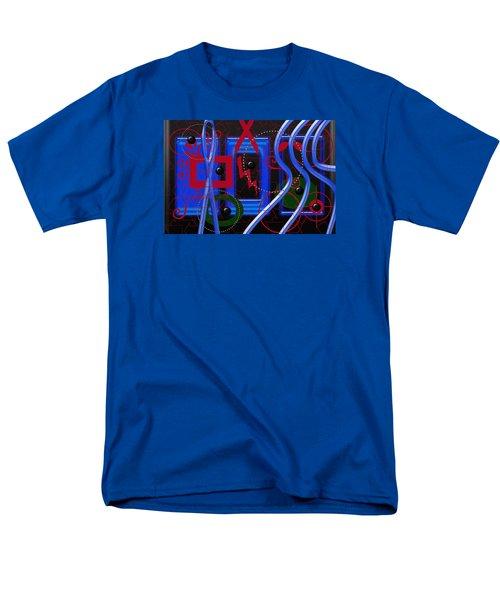 Black Dots Men's T-Shirt  (Regular Fit) by Tina M Wenger