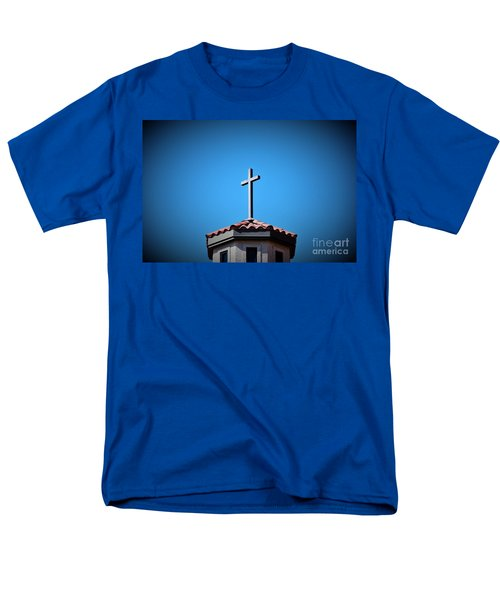 Men's T-Shirt  (Regular Fit) featuring the photograph Blessings To Everyone Of All Faiths by Ray Shrewsberry
