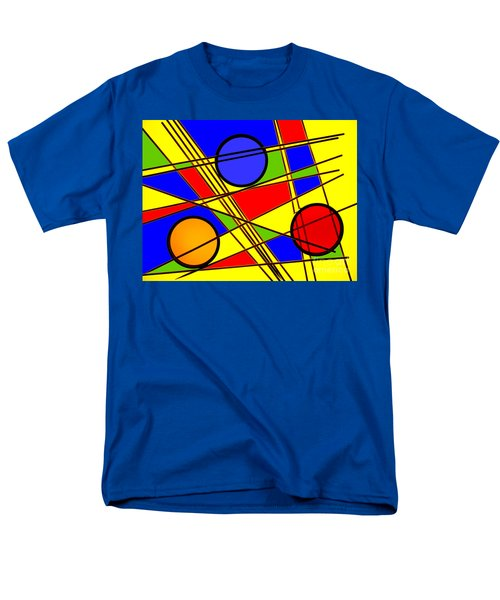 Men's T-Shirt  (Regular Fit) featuring the photograph Blocks Of Color by Trena Mara