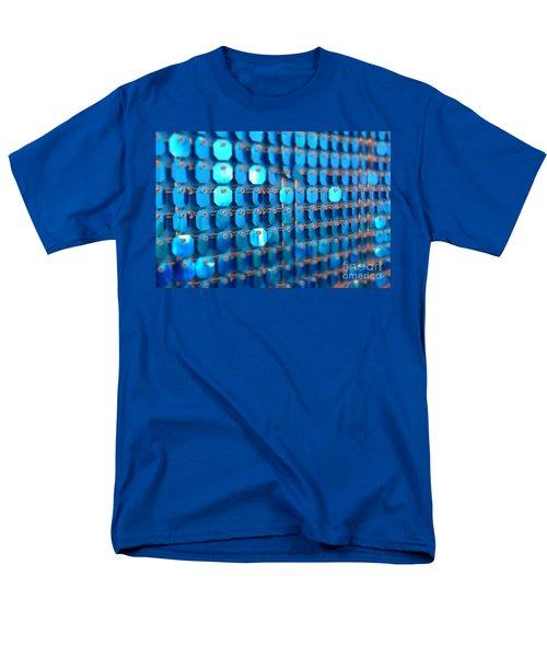 Blue Men's T-Shirt  (Regular Fit) by Barbara Bardzik